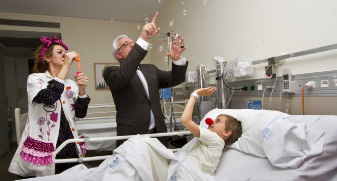 """""""Doctores sonrisa"""" para los niños ingresados en hospitales madrileños"""