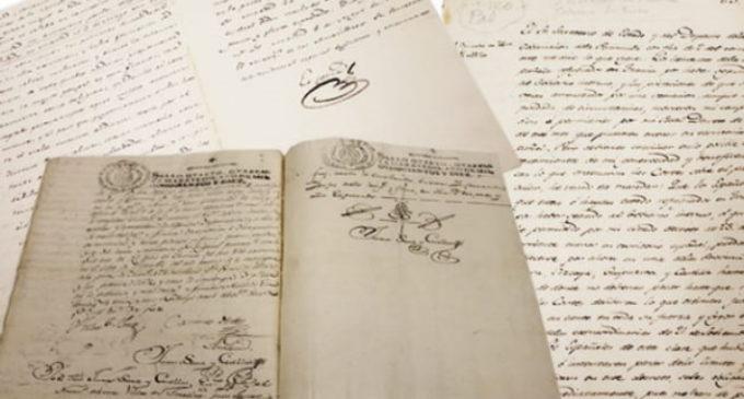 Mostramos los documentos históricos de sus archivos relacionados con los alzamientos del 2 de mayo