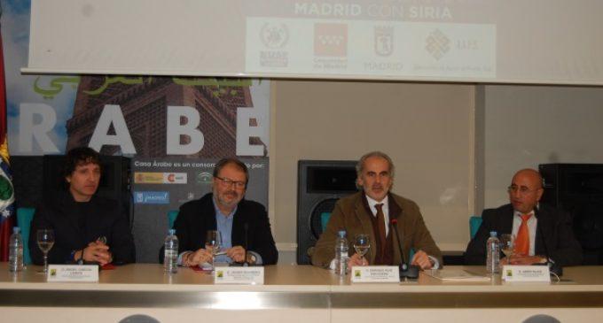 Comunidad de Madrid y Ayuntamiento donan vehículos y material de emergencias a Siria
