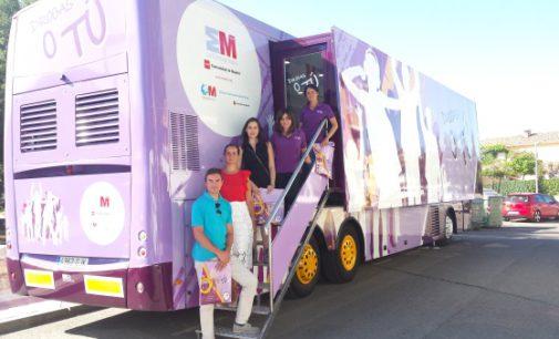 """El autobús """"Drogas o Tú"""" recala este verano en 47 municipios de la Comunidad de Madrid"""