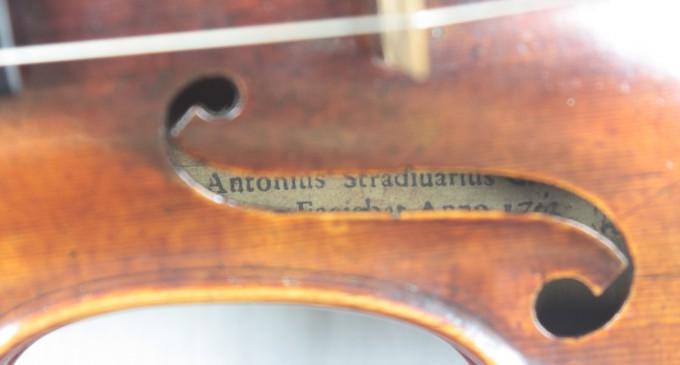 La Comunidad declara BIC uno de los Stradivarius mejor conservados del mundo