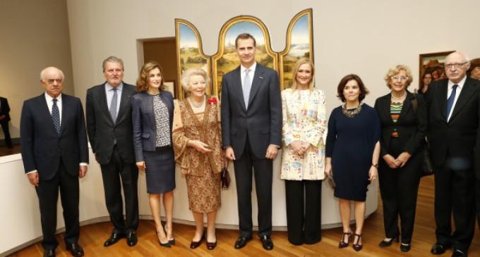 Inauguración de la exposición conmemorativa de El Bosco en el Museo del Prado