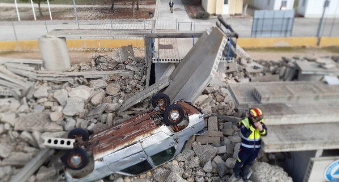 El Grupo de Emergencia y Respuesta Inmediata de la Comunidad interviene en un simulacro de terremoto