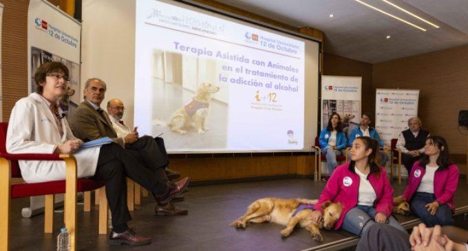 Hospital 12 de Octubre:  beneficios de la terapia asistida con animales en el tratamiento y rehabilitación de pacientes alcohólicos