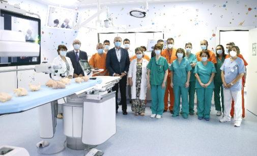 El Hospital Gregorio Marañón estrena una sala de hemodinámica híbrida para el tratamiento de las cardiopatías congénitas en niños