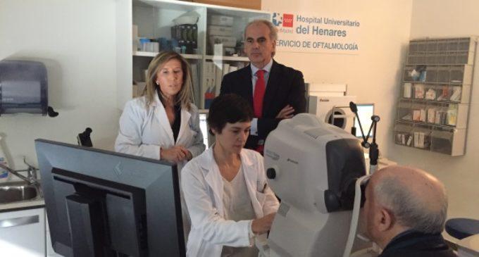 El Hospital del Henares previene la ceguera producida por diabetes mediante un programa de cribado