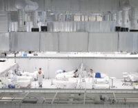 El Isabel Zendal, uno de los cinco centros de la región con mayor número de pacientes por COVID