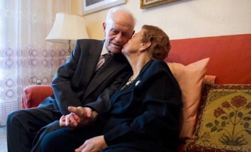 Encuentro Matrimonial concede el Premio a toda una vida de amor 2017 a Eulogio y Martina, 75 años casados