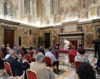 """El Papa a los periodistas cristianos: Ser portavoces """"de esperanza"""""""