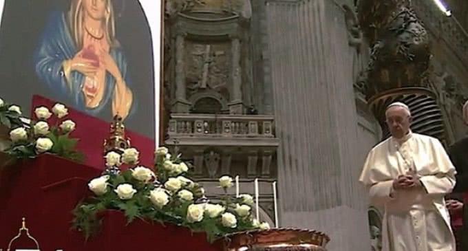 El Papa en la Vigilia Enjugar las Lágrimas : 'El llanto de Jesús es el antídoto contra la indiferencia'