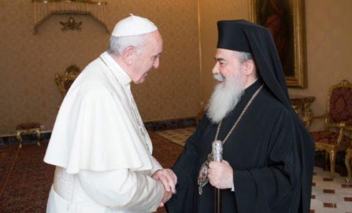 El Papa a Teófilo III: Firme rechazo a cualquier tipo de violencia