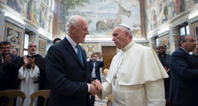 """Francisco sobre Siria e Irak: """"El mal no tiene la última palabra"""