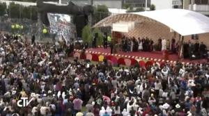 El Papa con el mundo de la educación 1