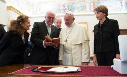 Alemania: El Papa recibe al presidente de República, Frank-Walter Steinmeier