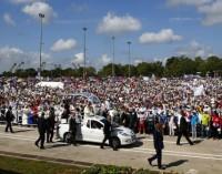 Cientos de miles de personas aclaman al Papa en Cuba durante su viaje apostólico a la isla
