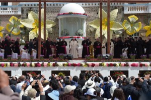 El Papa en el Quinche 3