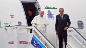 El  Papa en ka Habana 1