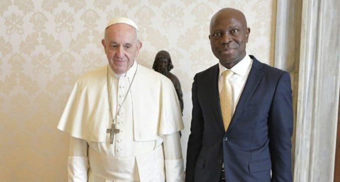 El Papa irá al Fondo Internacional de Desarrollo Agrícola el 14 de febrero