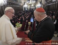 """Mons. Gądecki: """"El Papa no ha reprochado nada a los obispos polacos. Encuentro libre y sereno"""""""