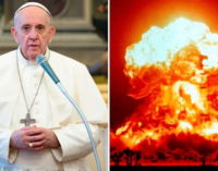 El Papa pide un mundo sin armas nucleares cuando entre en vigor el Tratado de Prohibición