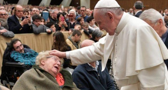 El Papa a Capodarco: 'La inclusión de los más débiles indica la calidad de vida de una sociedad'