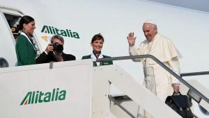 El Papa sale de Roma