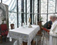 El Papa visita el lugar de nacimiento de Santa Teresa de Calcuta, en Skopje