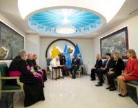 El Papa visita la sede de la Organización de las Naciones Unidas para la Alimentación y la Agricultura