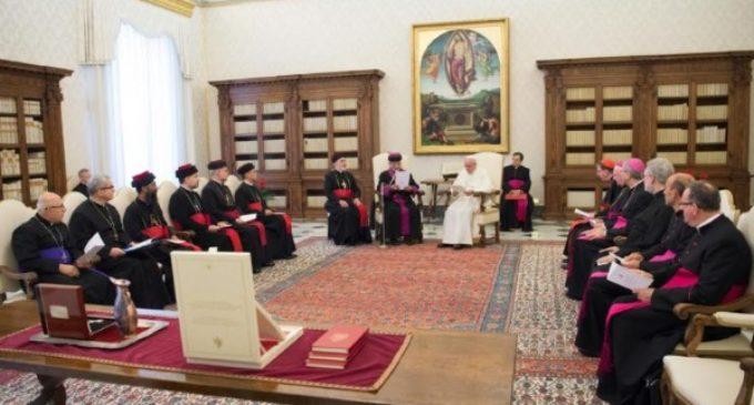 El Santo Padre implora el fin de tanto dolor en Oriente Medio