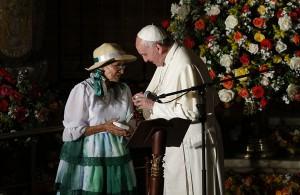El Papa y la sociedasd civil en Ecuador 1