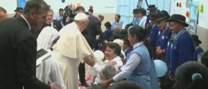 El Papa y las misioneras 2