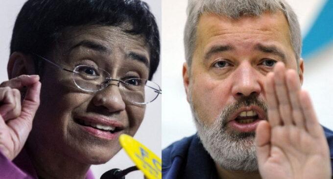 El Premio Nobel de la Paz honra la libertad de expresión