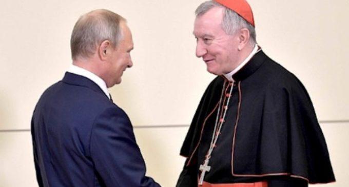 """Putin a Parolin: """"Aprecio el diálogo constructivo con la Santa Sede"""""""
