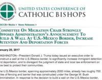 Los obispos de EEUU temen que el muro de Trump vuelva a los inmigrantes aún más vulnerables a los traficantes