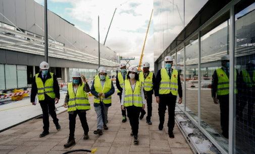 El nuevo Hospital de Emergencias Enfermera Isabel Zendal de Madrid ya alcanza el 90% de su construcción