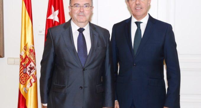 El presidente de la Comunidad se reúne con el rector de la Universidad Politécnica de Madrid