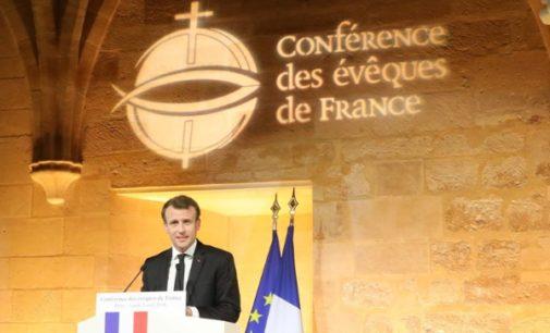 Emmanuel Macron, a los obispos franceses: un Presidente de la República que pretendiera desinteresarse de los católicos faltaría a su deber