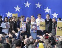 Cifuentes participa en el acto 'A 3 años del encarcelamiento injusto de Leopoldo López. No + dictadura en Venezuela'