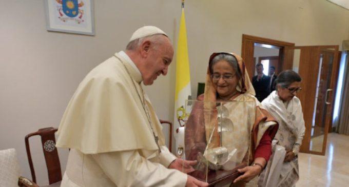 Bangladesh: Encuentro con la Primera Ministra Sheikh Hasina