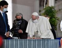 Encuentro de Oración: Firma del Llamamiento por la Paz