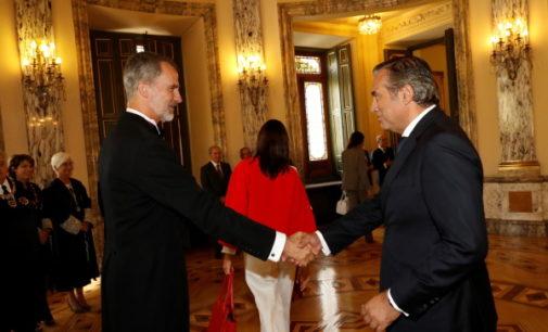 Enrique López asiste al acto de apertura del año judicial en el Tribunal Supremo