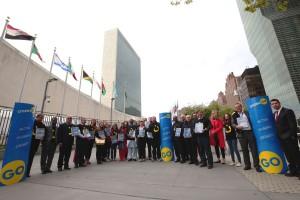 Entrega a la ONU