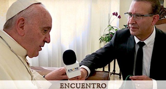 """Francisco a 'El Sembrador': """"Los inmigrantes no tengan miedo, estén bajo el manto de la Virgen"""""""