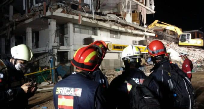 El ERICAM regresó a Madrid tras su intervención de ayuda humanitaria en Ecuador