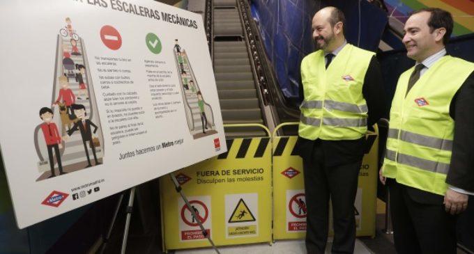 La estación de Metro de Chueca contará con dos nuevas escaleras mecánicas en abril