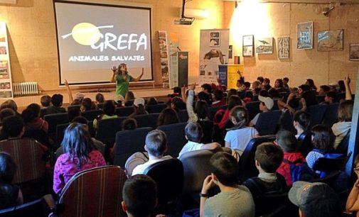 Más de 8.000 escolares participaron en el programa de educación ambiental de GREFA el pasado curso escolar