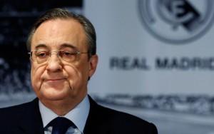 Escudo Real Madrid. Florentino Pérez