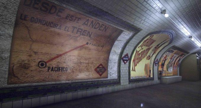 El antiguo vestíbulo de la estación de Metro de Pacífico abre sus puertas al público todos los sábados del año