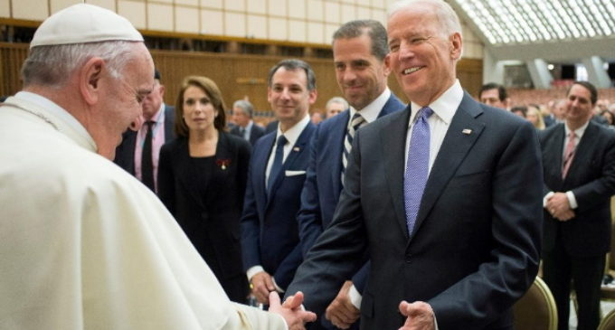 El Papa habla por teléfono con Joe Biden, presidente electo de los Estados Unidos