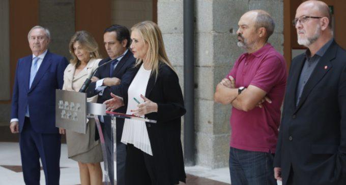 Empresarios y sindicatos se suman a la estrategia para atraer nuevas inversiones a la Comunidad de Madrid